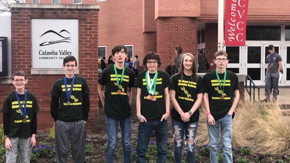 Science Olympiad members