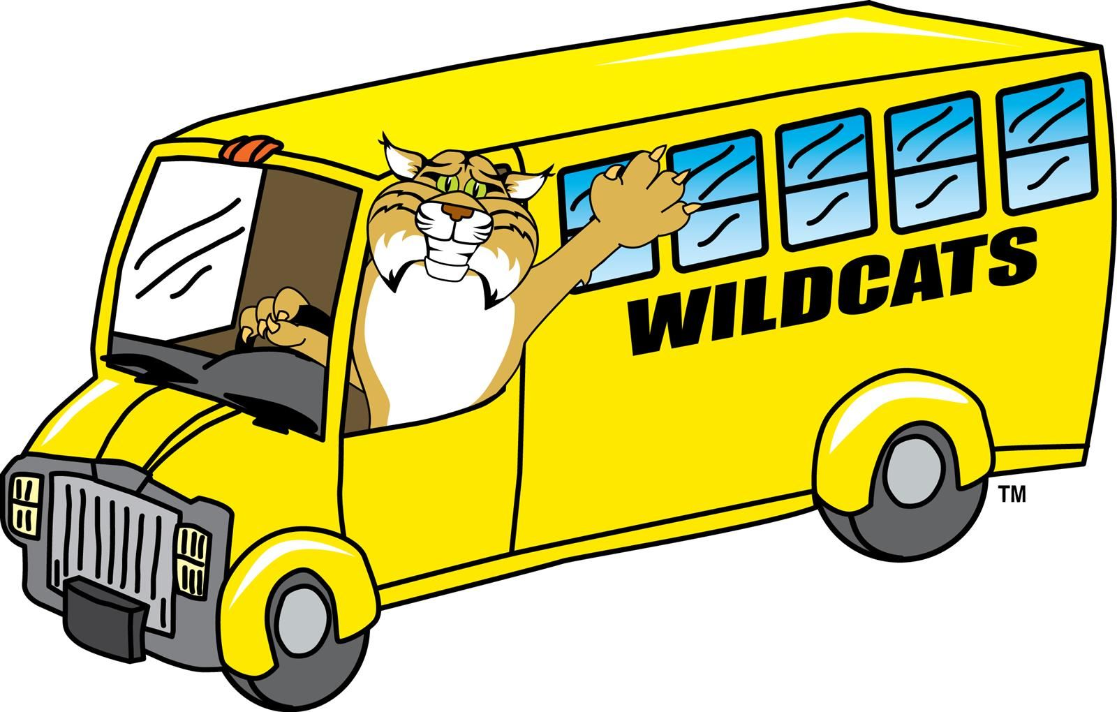 wildcat in a bus