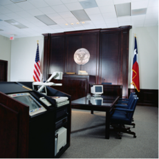 Meeting room for Board of Education