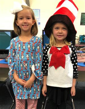 GFES Celebrates Dr. Seuss Week!