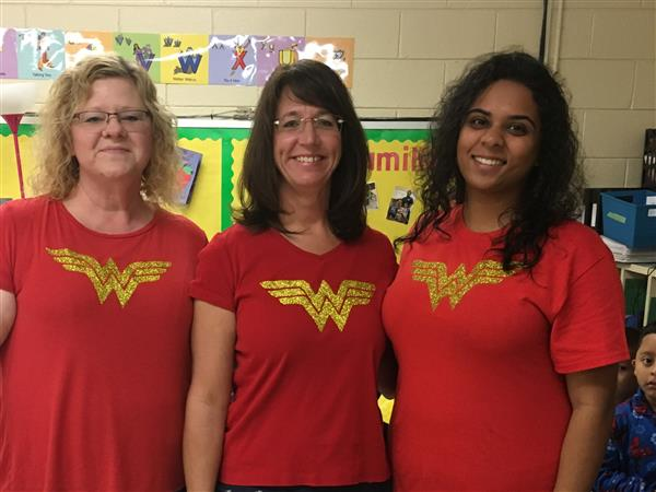 Our Staff & Students are Super Heroes!