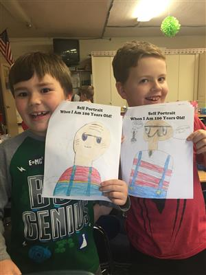Click here to see how GFES Celebrates the 100th day of School!