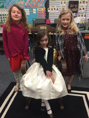 2nd Grade ready for Opera!