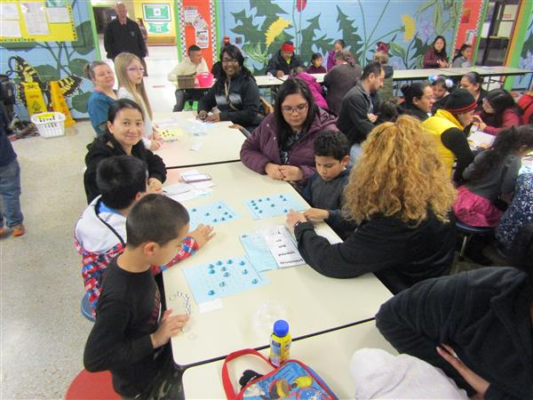 We had our Title 1 Reading Night on Jan. 15th, and we had a amazing showing of parents and students.