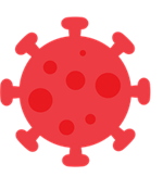 virus cell icon