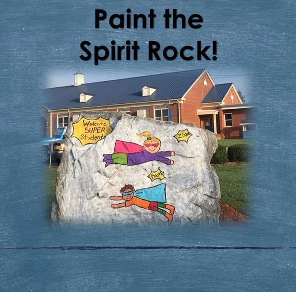 Paint the Spirit Rock!