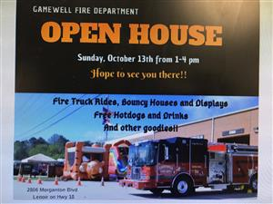 Open House at Fire Dept.
