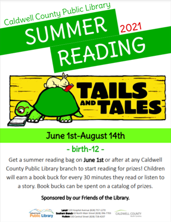 Summer Reading Overview