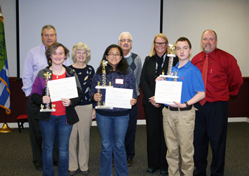 SPELLING BEE CHAMPION HAILS FROM GAMEWELL MIDDLE Eighth Grader Aidan Crooke Wins the 2016 Title