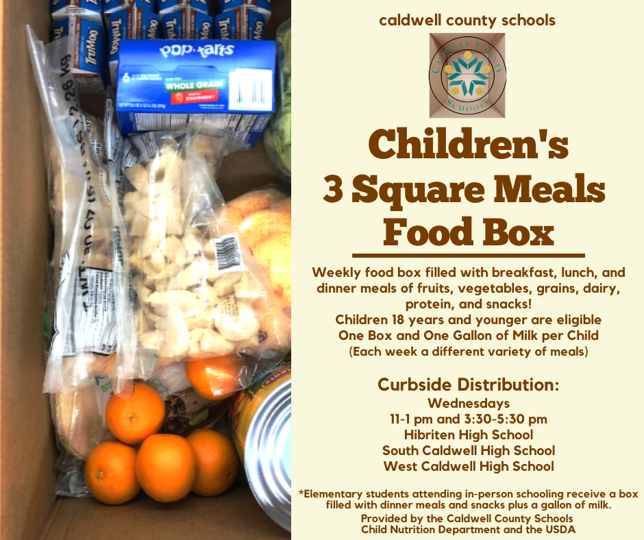 More Meals for Children 18 Years and Younger