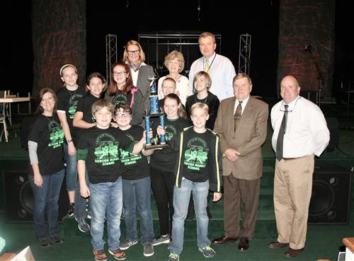 Hudson Middle Wins Battle of the Books