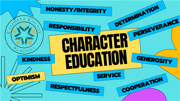 Character Education Representatives for January