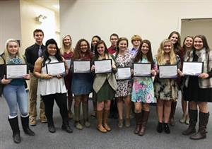 CCS Students Inducted into the National Technical Honor Society