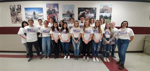 FBLA students at South Caldwell High School