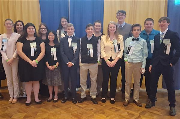 SCHS students participate in the NC FBLA Conference