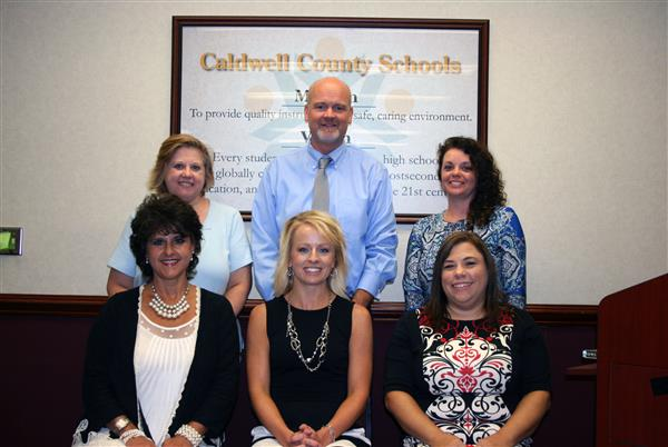Finance Department at the Caldwell County Schools