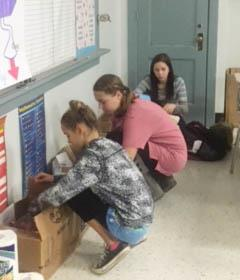Students and Staff Organize Local Relief Efforts