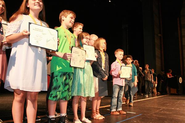 Students Receive Recognition for Reading Millions of Words