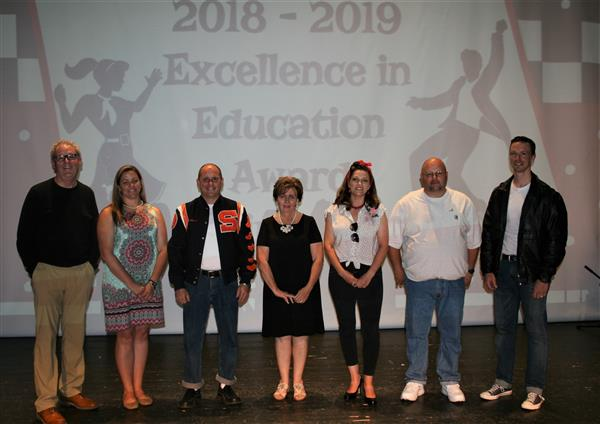 Winners of the 2018 Excellence in Education Awards