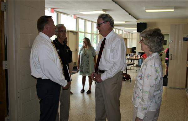 New Superintendent Visits School Campuses First Week