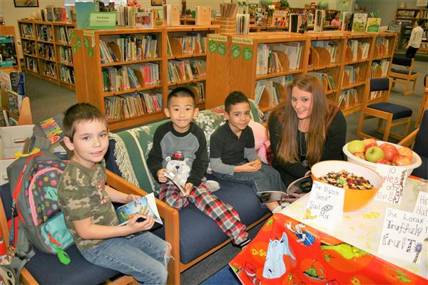 LPD Read with Whitnel Students