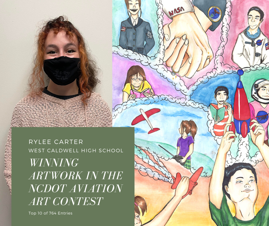 Carter and her winning entry
