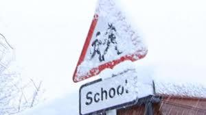 Schools Prepare for Wintry Weekend