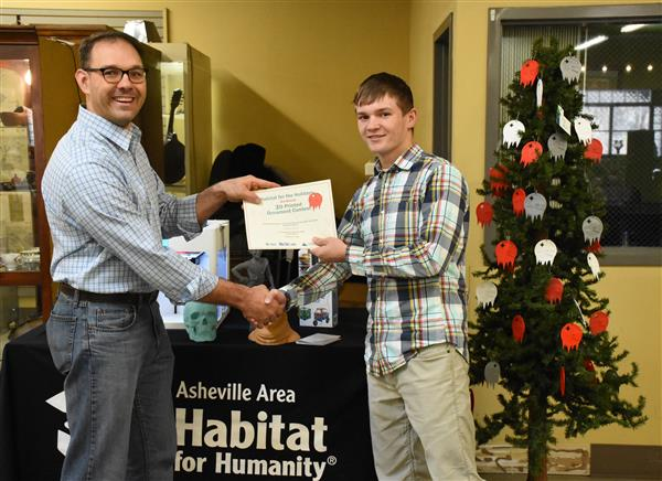 West Caldwell Student Wins Holiday 3D Contest