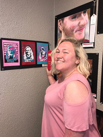 Art Students Showcase Talents at the Art's Council Show