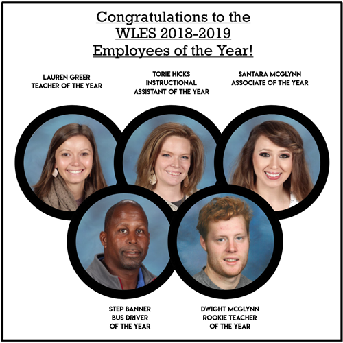 WLES Employees of the Year