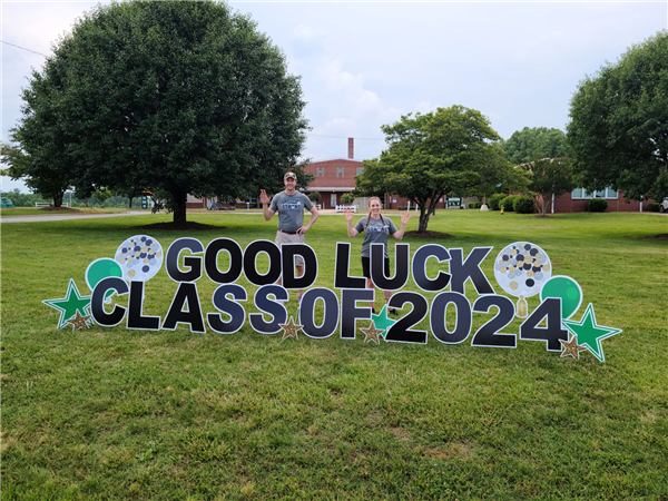 Good Luck , 8th Graders!