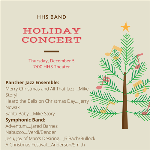 Band Holiday Concert