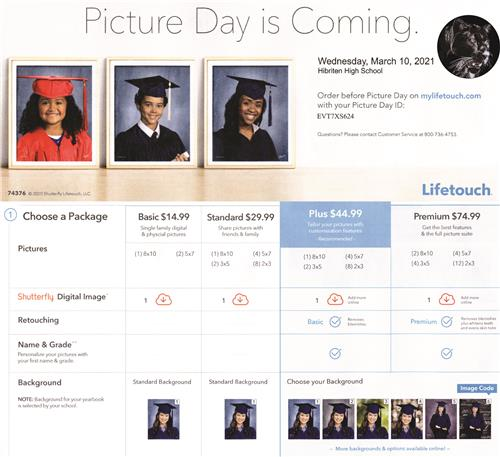 Cap and Gown Picture Day